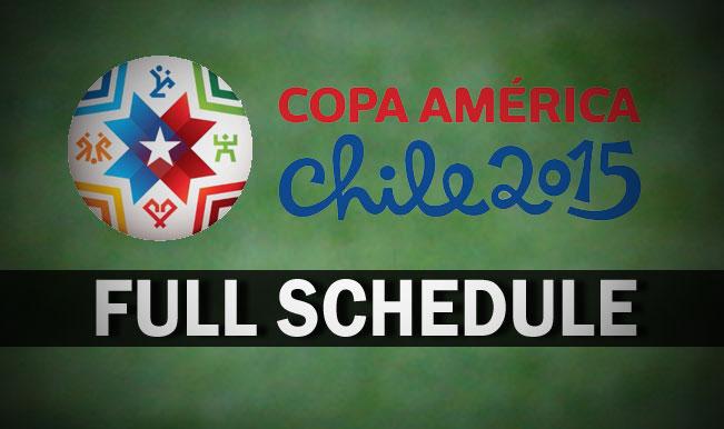 Copa-America-Schedule