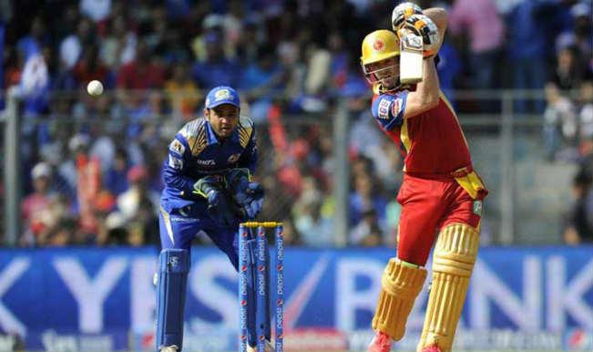 AB de Villiers slams century against Mumbai Indians: Watch full video highlights of De Villiers' 133* innings in IPL 2015 | India.com
