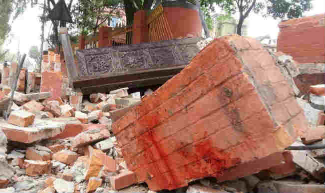 Earthquake in Nepal and Northern India 2015