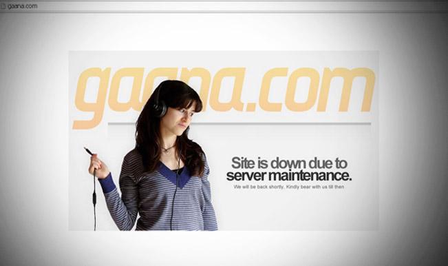 Gaana.com-Hacked
