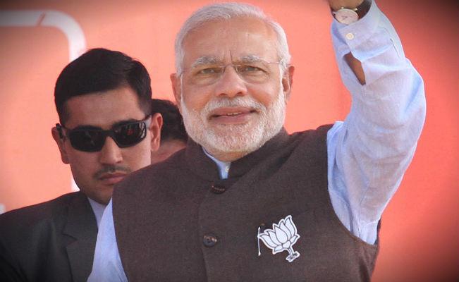Narendra Modi in Udhampur Jammu and Kashmir