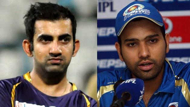 Rohit-Sharma-(MI)-vs-Gautam-Gambhir-(KKR)