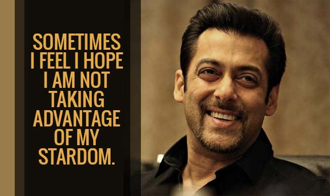 Salman Khan surprises with 10 thought-provoking quotes that