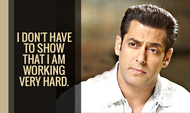 Salman Khan Surprises With 10 Thought Provoking Quotes That Will Leave You Loving Him More India Com Salman khan — indian actor born on december 27, 1965, abdul rashid salim salman khan better known as salman khan is an indian film actor, producer and. salman khan surprises with 10 thought