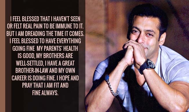 Salman Khan Surprises With 10 Thought Provoking Quotes That Will Leave You Loving Him More India Com Enjoy salman khan famous quotes. salman khan surprises with 10 thought