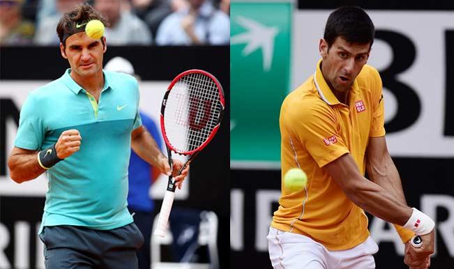 Novak Djokovic Vs Roger Federer Rome Masters 2015 Live Final Match Score Watch Live Streaming Telecast Of Italian Open Tennis Tournament India Com