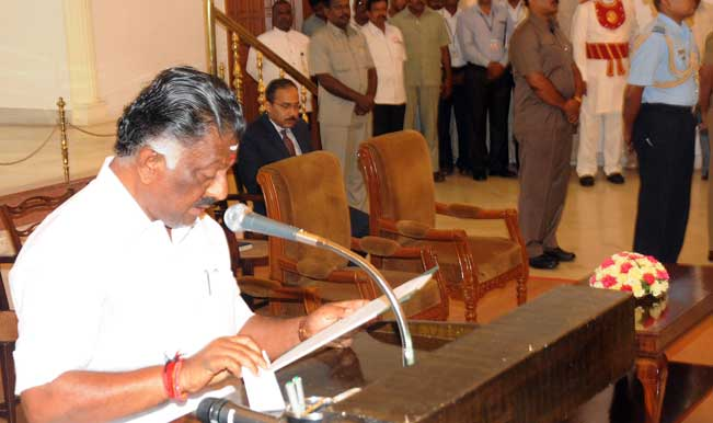 Tamil-Nadu-Finance-Minister-O-Panneerselvam-swears-in-as-the-new-Chief-Minister-of-Ta