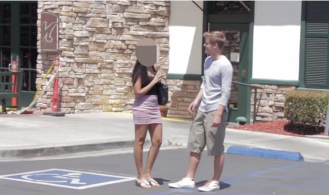 White man teaches racist Indian girl a lesson through revenge prank (Watch Video)