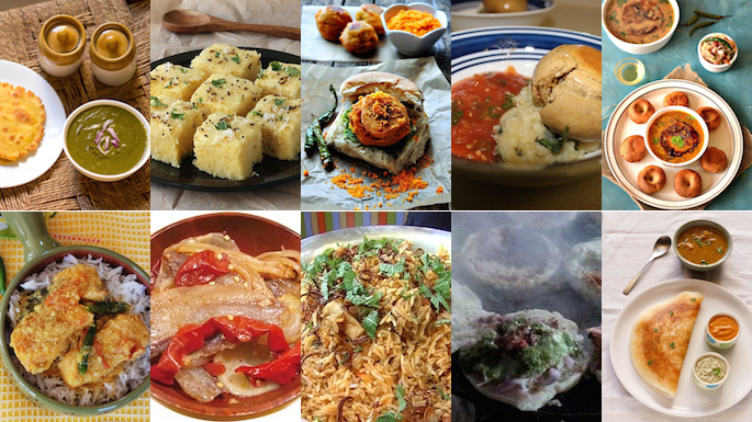 10 indian states and their special dishes - Different types of cuisines in the world ...
