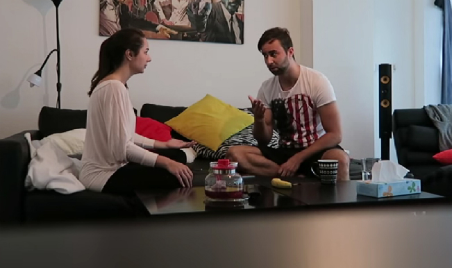 This girl's pregnancy prank on her boyfriend goes wrong: What happens next? (Watch video)