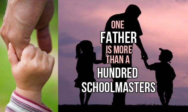 40 Inspirational Fathers Day Quotes - Freshmorningquotes |Fathers Day Inspirational Thoughts