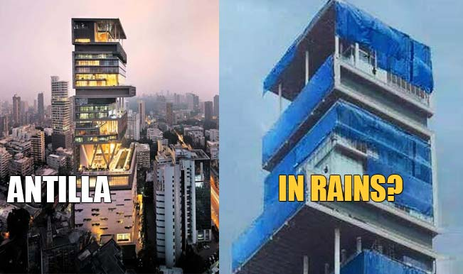Real or Fake: Why is Mukesh Ambani's house Antilia's monsoon picture going viral?