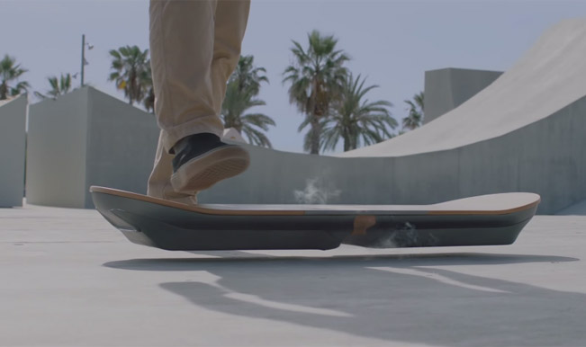 hoverboard is a reality thanks to lexus. Black Bedroom Furniture Sets. Home Design Ideas