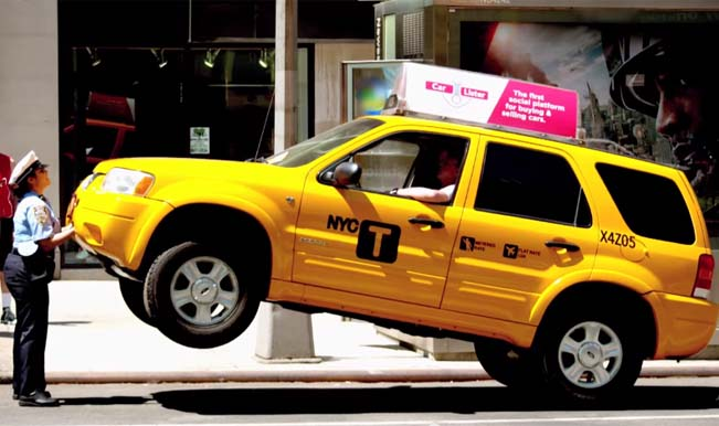 Watch lady hulk lift an suv taxi to prove a point for Motor vehicle ny pay tickets