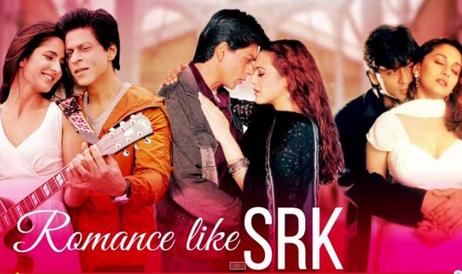 Romance like Shah Rukh Khan – Mashup video: Celebrating 23 Golden Years of SRK!