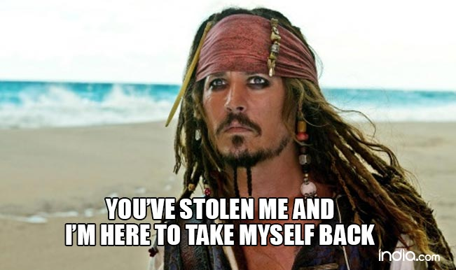Pirates Of The Caribbean Quotes Captain Jack Sparrow Quotes 10 Linesjohnny Depp's Character .