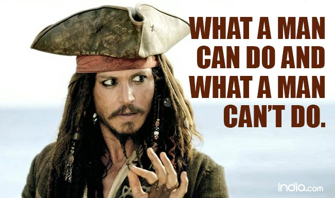 Captain Jack Sparrow Quotes 60 Lines By Johnny Depp's Character Best Captain Jack Sparrow Quotes