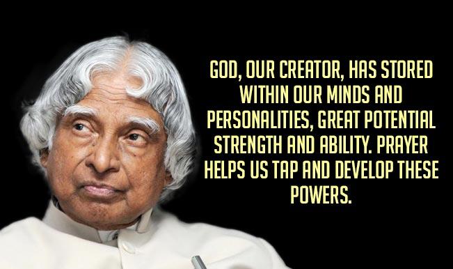 Great Famous Quotes Cool Apj Abdul Kalam Quotes Top 15 Motivational & Inspirational