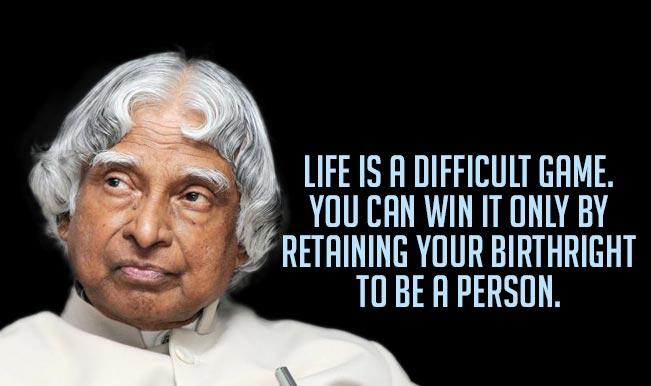 Apj Abdul Kalam Quotes Top 15 Motivational Inspirational Sayings