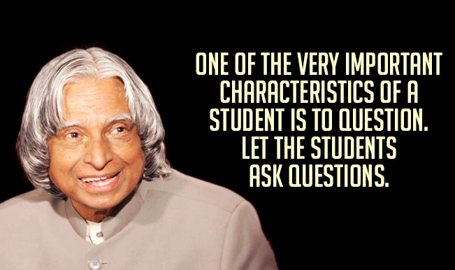 Quotes On Importance Of Sports In Students Life Stunning Apj Abdul Kalam Quotes Top 15 Motivational & Inspirational