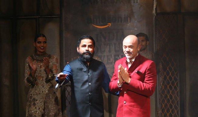 Amazon India Couture Week 2015: Sabyasachi Mukherjee full show  featuring Christian Louboutin (Video)