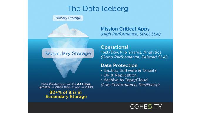 Data Iceberg Cohesity