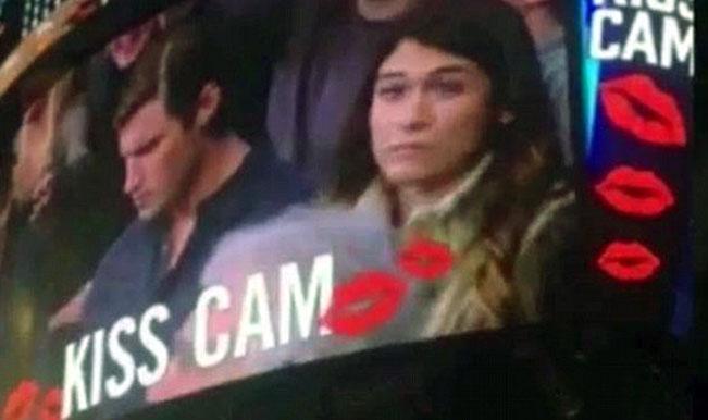 Webcam kiss