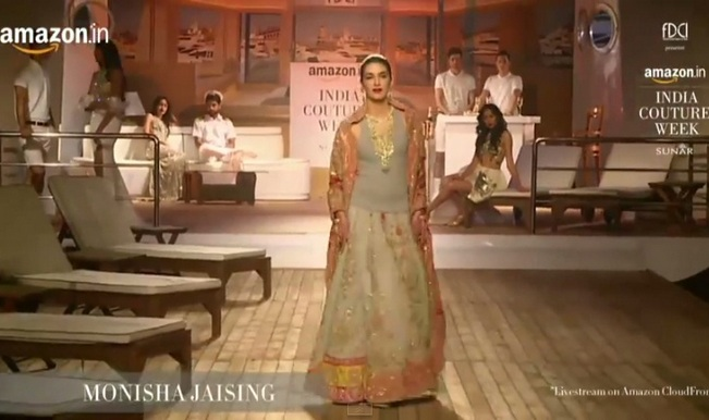 Amazon India Couture Week 2015 live: Designer Anju Modi showcases her collection
