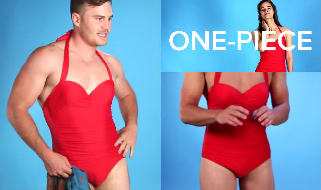 b417643b0f57f Men in swimsuits – SHOCKED? Here is the video showing men setting unusual  trends