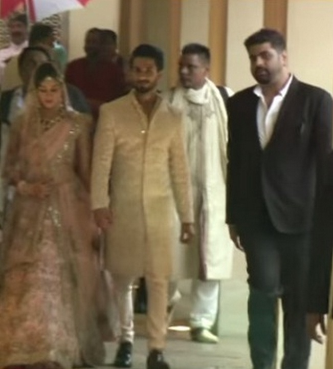 Shahid Kapoor and Mira Rajput wedding video: First public appearance together!