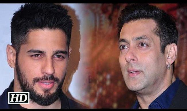 Salman Khan is Brothers actor Sidharth Malhotra's new ...  Salman Khan is ...