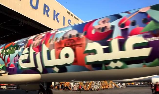 Eid Mubarak: Turkish Airlines wishes Eid Mubarak most innovatively!