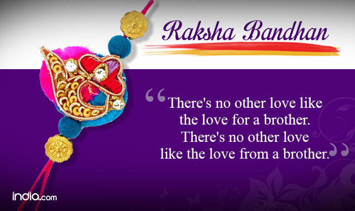 Happy Raksha Bandhan 2015 Quotes and Wishes: Best ...