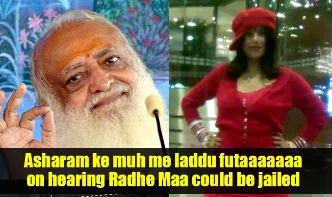 169 best radhe maa whatsapp messages 8 funny radhe maa whatsapp jokes,Asaram Meme