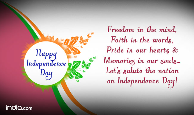Happy Independence Day 2015: Best Independence Day SMS ...