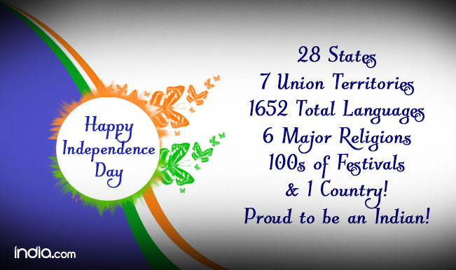 Happy Independence Day 2015: Best Independence Day SMS ... I Am Proud To Be An Indian Wallpapers
