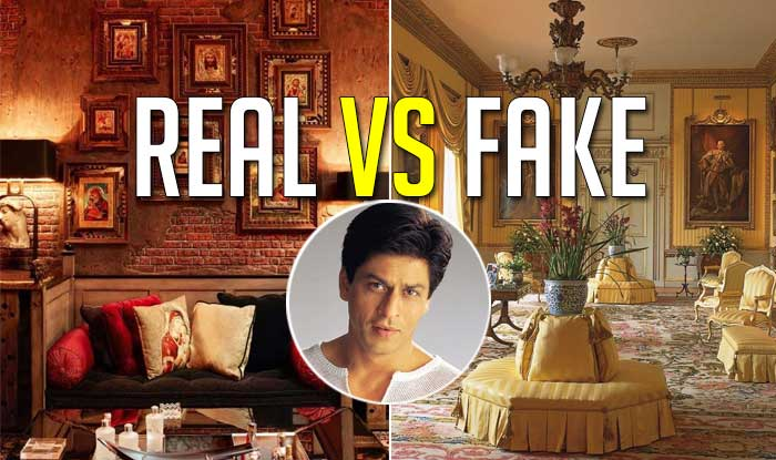 Have You Visited Shah Rukh Khan 39 S Mansion Mannat Real Vs: shahrukh khan home inside