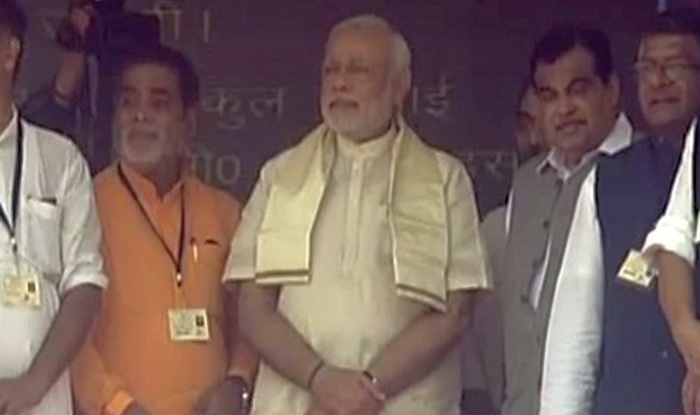 PM Narendra Modi inaugurates National Highway project at Arrah, Bihar (Watch video)