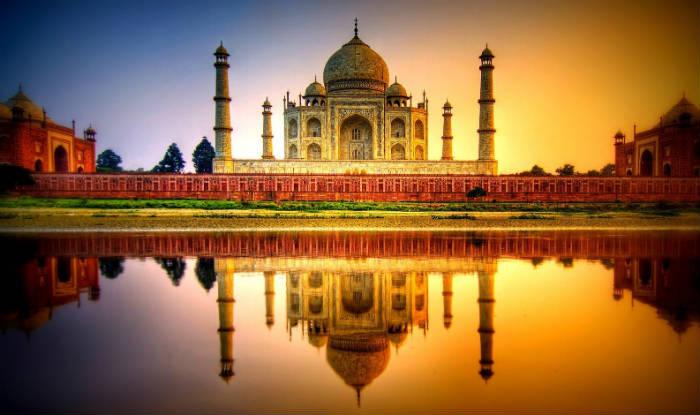 Image result for Taj Mahal, Agra, India
