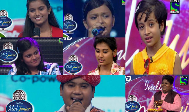 Indian idol Junior 2015: Meet the top 7 finalists of the singing