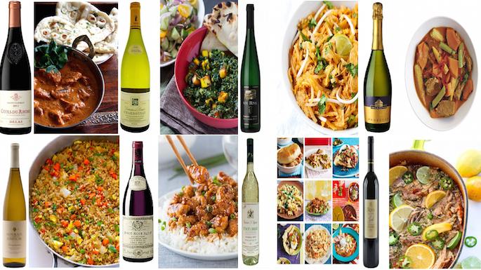 8 best international cusines and their wine pairings - Best international cuisine ...