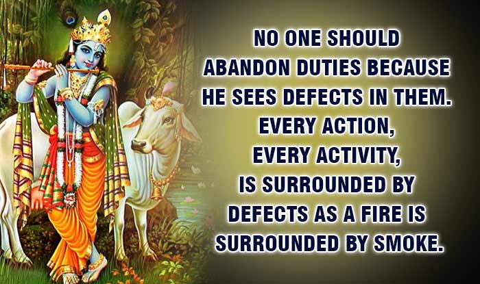 Janmashtami 2015: 11 quotes of Lord Krishna from Bhagavad
