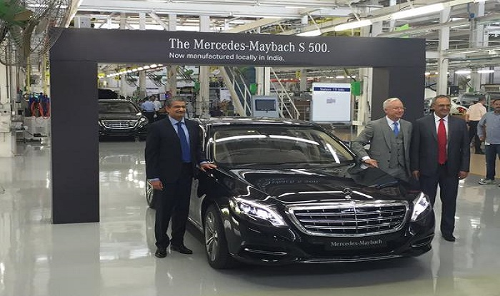 Mercedes to locally assemble maybach s500 at pune plant for Mercedes benz prices in india