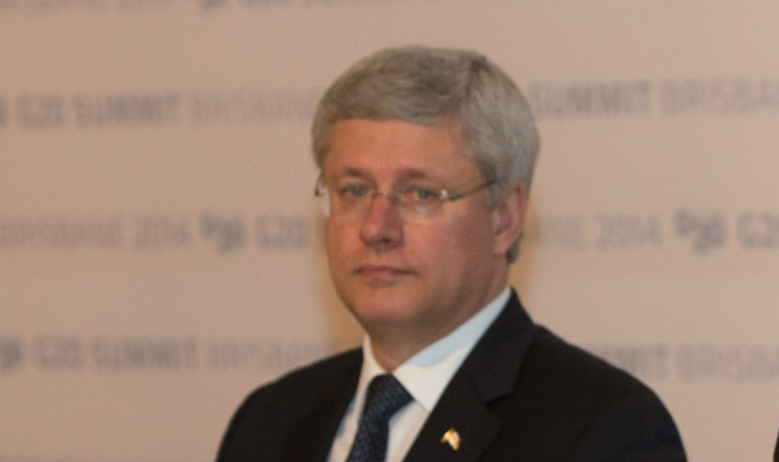 Canada in recession; Prime Minister Stephen Harper denies it as election looms