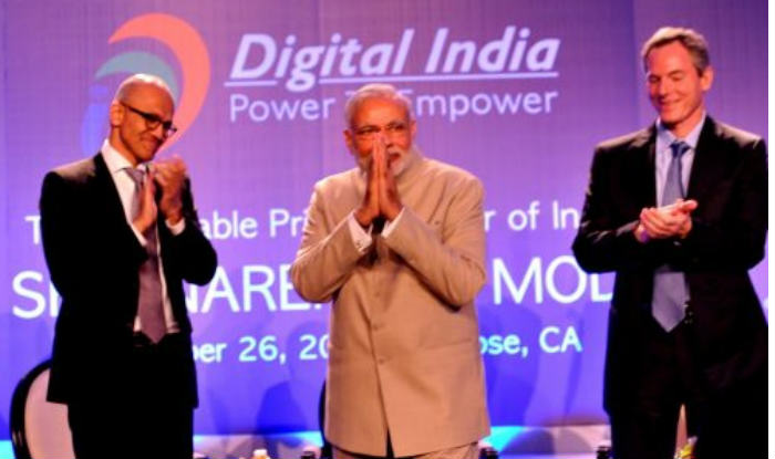 Technology is a tool to empower and bridge distance between hope and opportunity: Narendra Modi at Silicon Valley