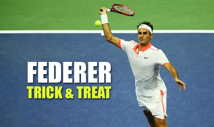 Roger Federer at US Open 2015: 'Sneak Attack By Roger' or Federer's Trick & Treat shot is must watch!