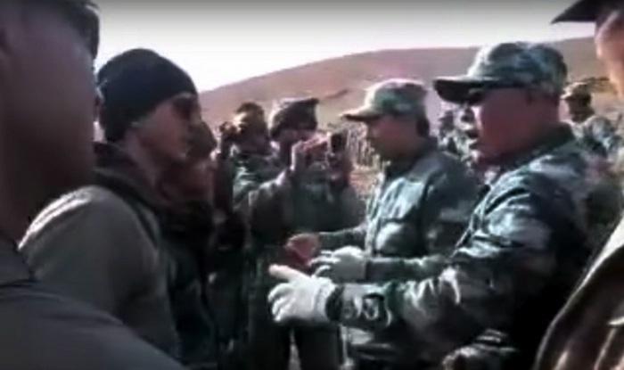 India vs China: Soldiers get into a verbal duel at the Indo-Tibetan border! (Watch video)