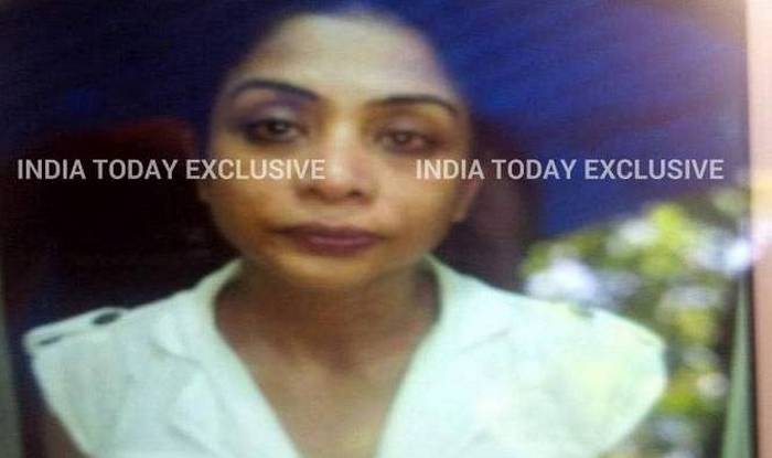 Exclusive picture of Indrani Mukerjea in police custody (India Today)