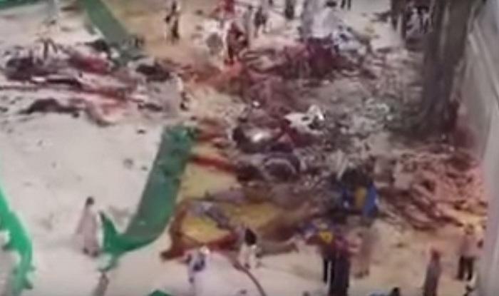 saudi arabia crane crash
