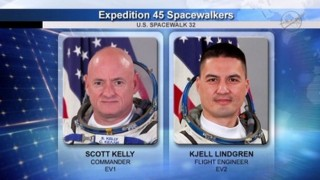 International Space Station: 2 astronauts spacewalk to perform maintenance (Videos)